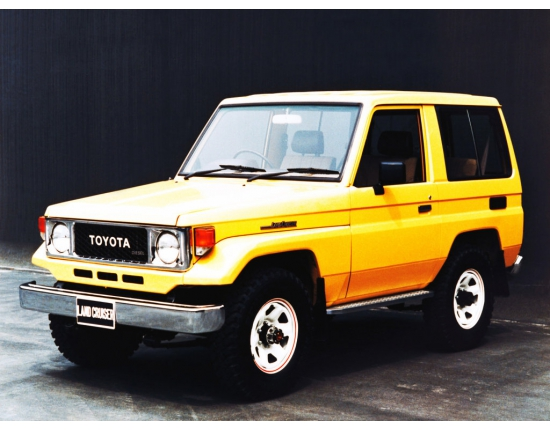 Фото toyota land cruiser 70 1