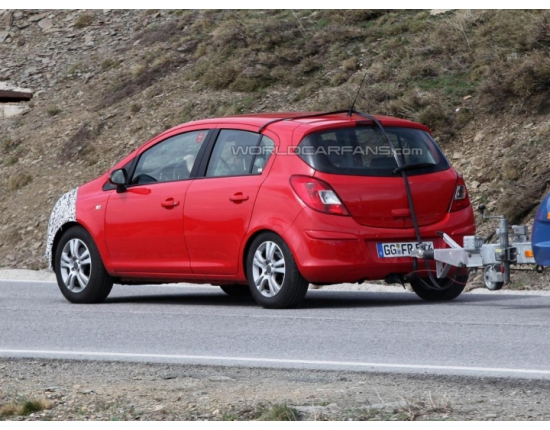 Photo opel corsa 2014 2