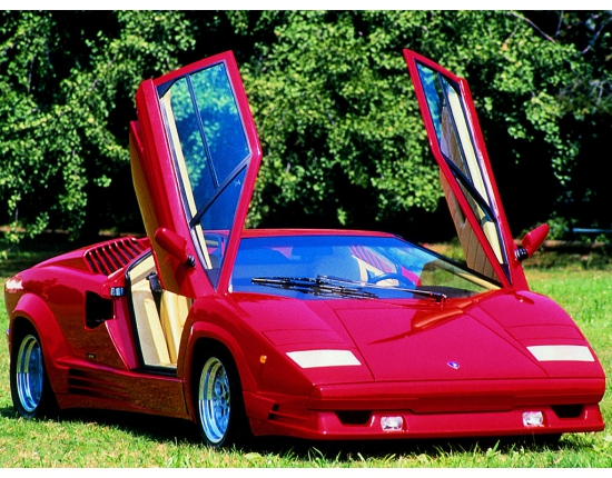 Photo lamborghini countach 1