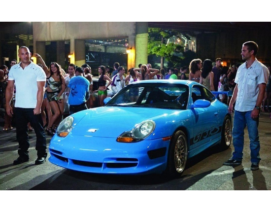 Photo porsche fast and furious 2