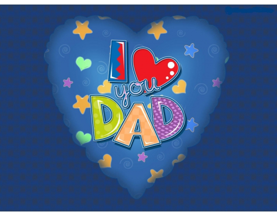 Картинки i love you dad 5