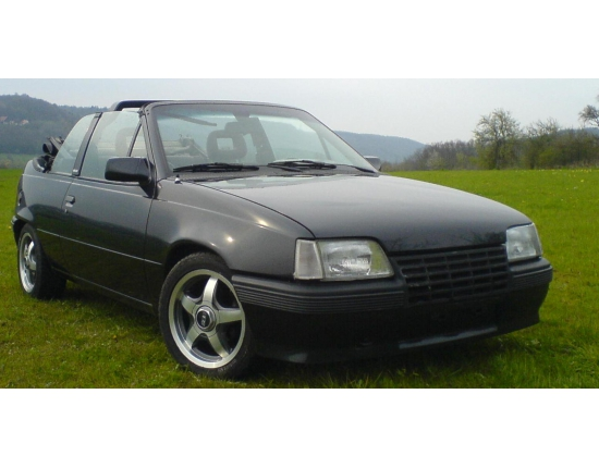 Photo opel kadett gsi 3