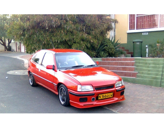 Photo opel kadett gsi 4