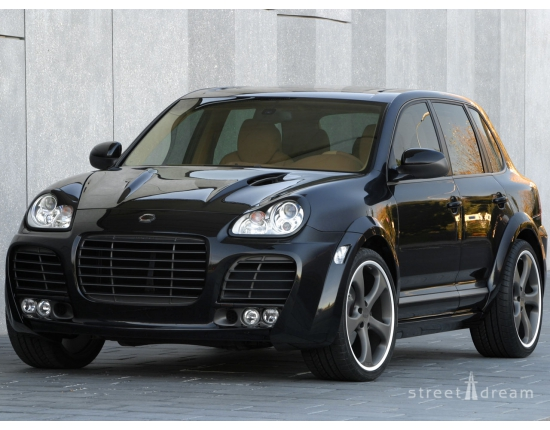Photo porsche cayenne magnum 2