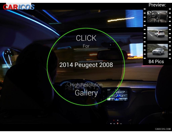 Photo interieur peugeot 2008 1