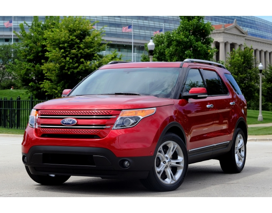 Ford explorer 2015 фото 2