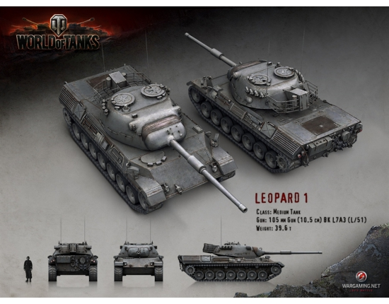 Картинки world of tanks леопард 1