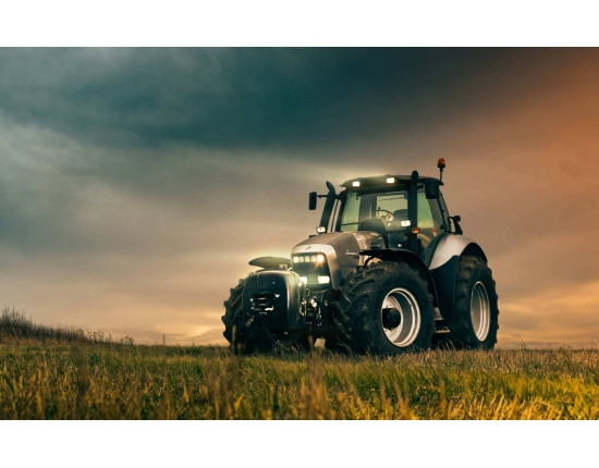 Photo tracteur lamborghini