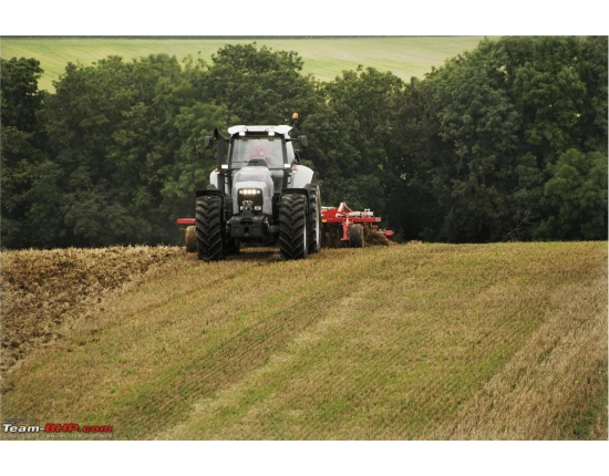 Photo tracteur lamborghini 4