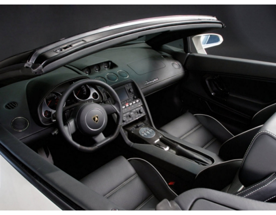 Photo interieur lamborghini gallardo