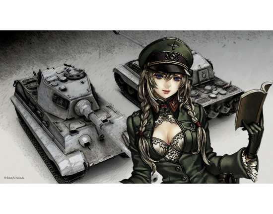 Картинки world of tanks аниме 3