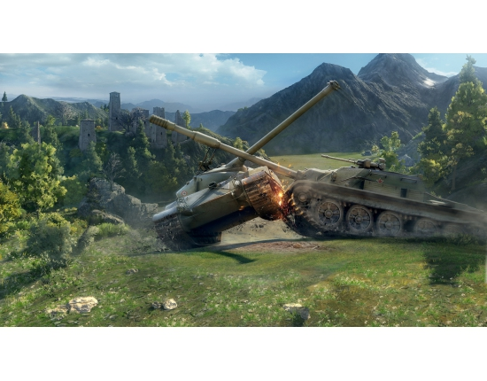 Картинки world of tanks 1366x768 3
