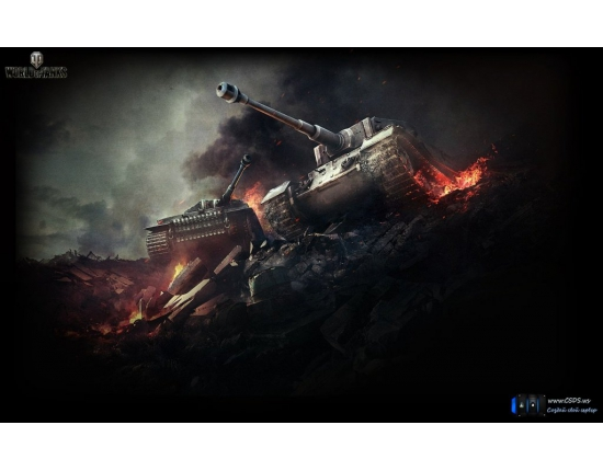 Картинки world of tanks 1366x768 4