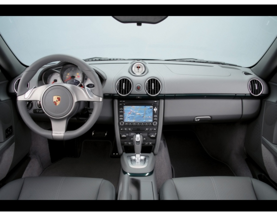 Photo interieur porsche cayman 1
