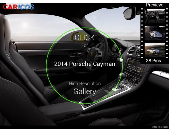 Photo interieur porsche cayman 2