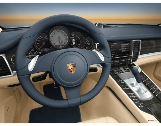 Photo interieur porsche panamera 2