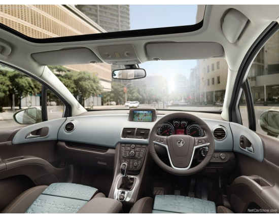 Photo interieur opel meriva 1
