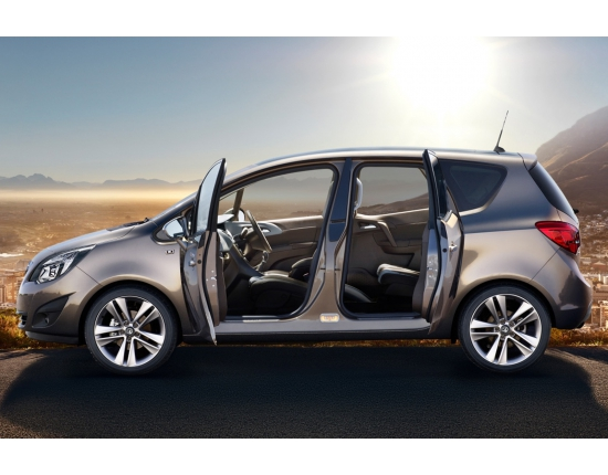 Photo interieur opel meriva 3