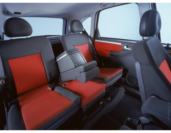 Photo interieur opel meriva 4