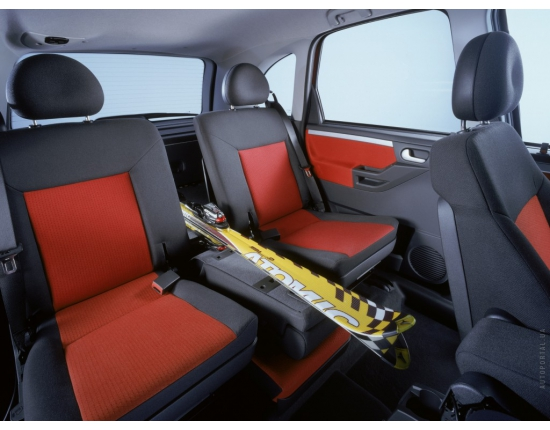 Photo interieur opel meriva 5