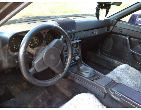 Photo interieur porsche 944 2