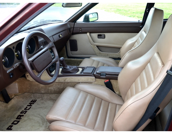 Photo interieur porsche 944 4