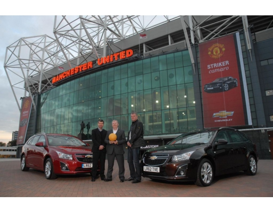 Chevrolet photo old trafford