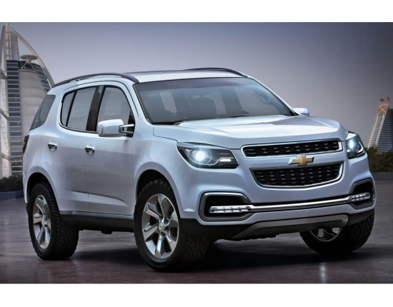 Chevrolet trailblazer картинки