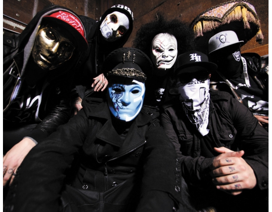 Фото на аву hollywood undead 3
