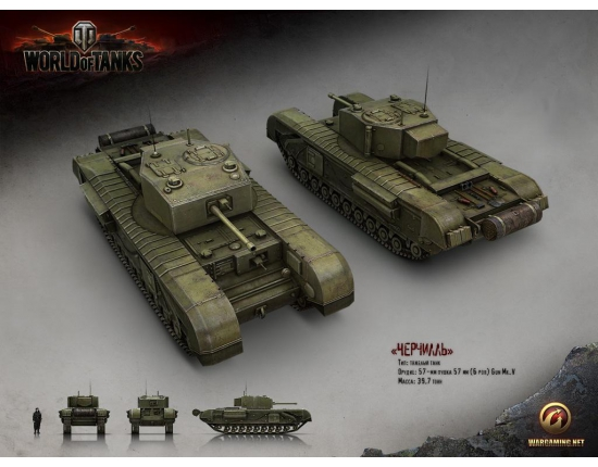 Картинки world of tanks черчилль