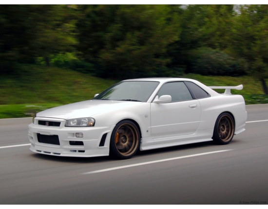 Photo de nissan skyline r34