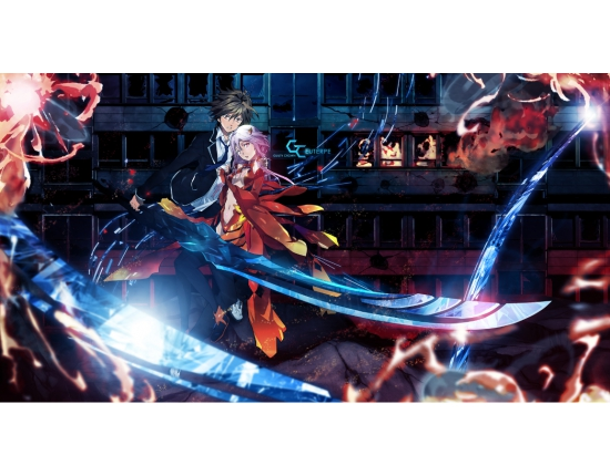 Картинки из аниме guilty crown 1
