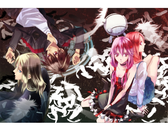 Картинки из аниме guilty crown 2
