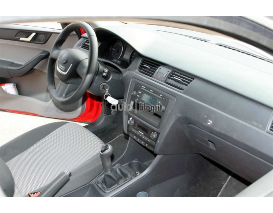 Photo interieur skoda rapid