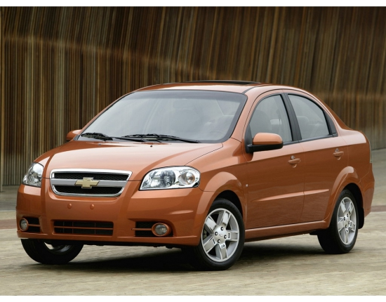 Image of chevrolet aveo