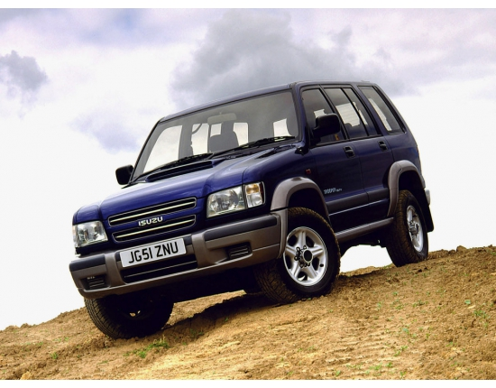 Фото isuzu trooper 2