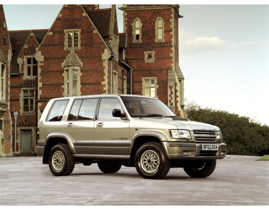 Фото isuzu trooper 3