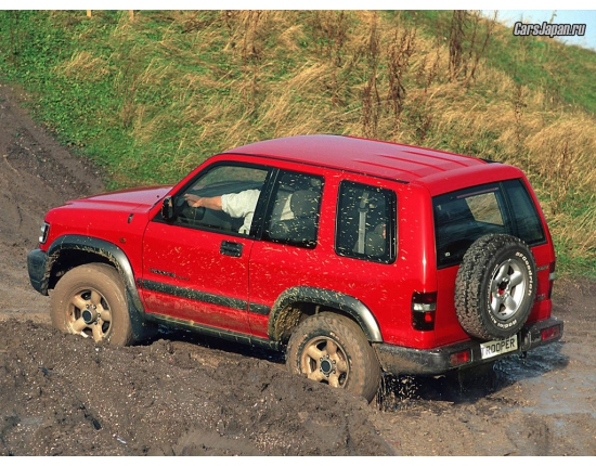 Фото isuzu trooper 4