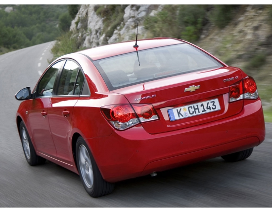 Photo voiture chevrolet cruze 4