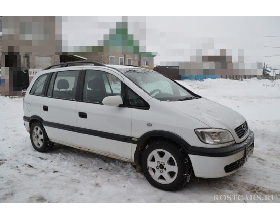 Photo opel zafira 2000