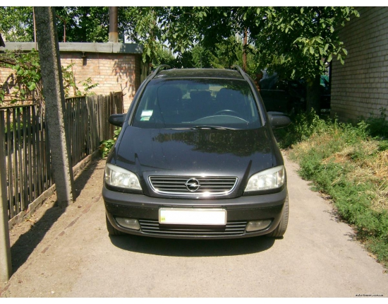 Photo opel zafira 2000 5