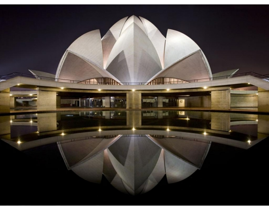 Photo lotus temple new delhi 3