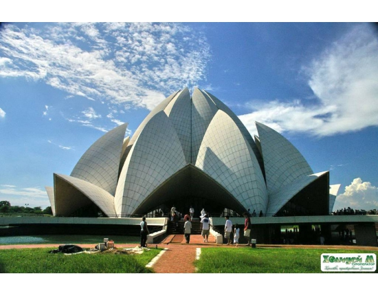 Photo lotus temple new delhi 4