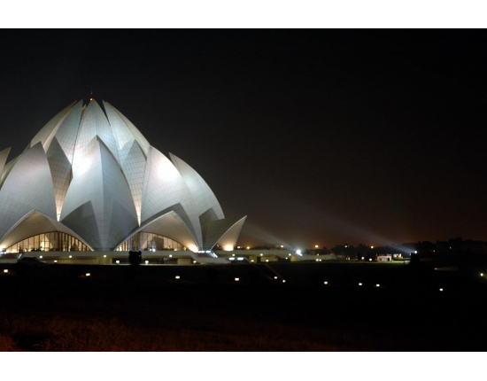 Photo lotus temple new delhi 5