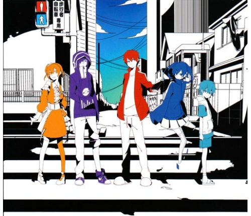 ����� �������� mekaku city actors