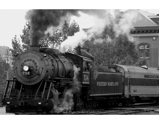 Image steam train