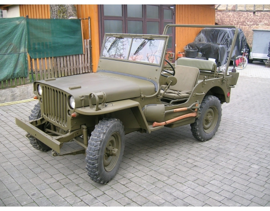 Photo jeep hotchkiss