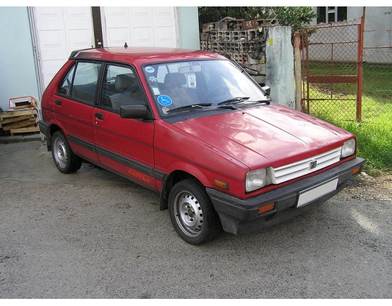 Photo subaru justy 4x4