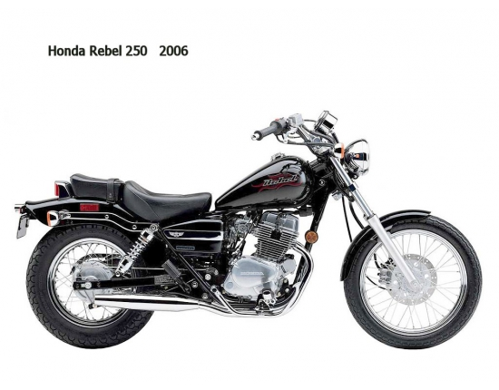 Photo honda rebel 125 1