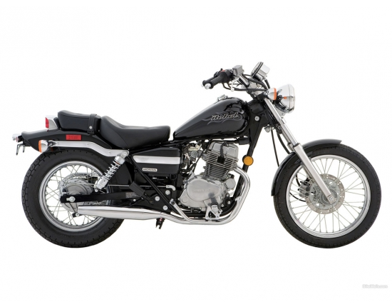 Photo honda rebel 125 2